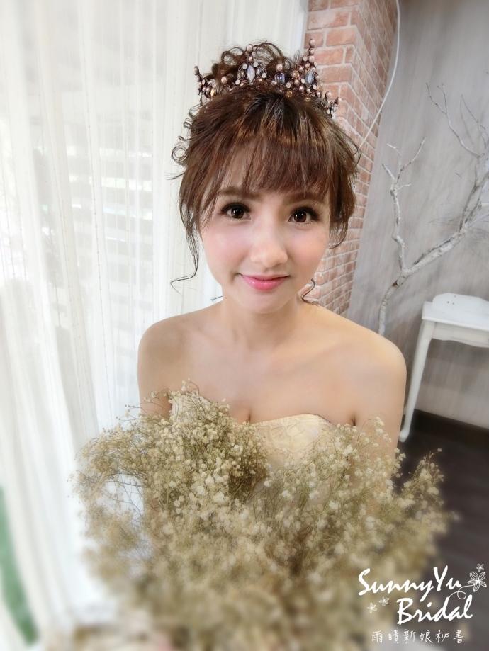 甜美|皇冠|魚尾|新秘雨晴|台北新娘秘書推薦