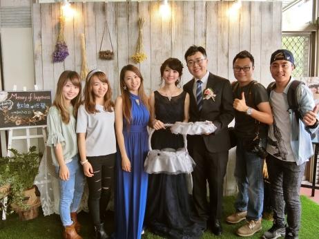 嘉義新秘推薦|新娘秘書雨晴SunnyYu|愛依賴婚禮攝影|
