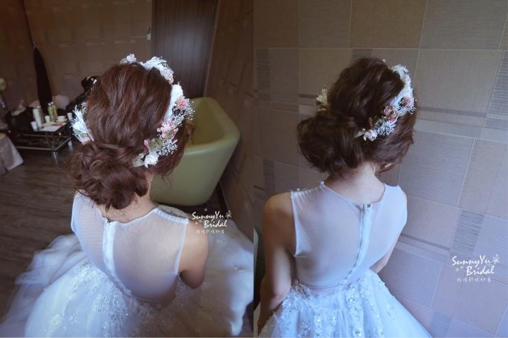 文定儀式|嘉義婚攝推薦|婚禮紀錄|MR2|嘉義新秘推薦|新娘秘書|新娘秘書推薦|雨晴新娘秘書|文定造型|進場造型|日系編髮|乾燥花花圈髮型|