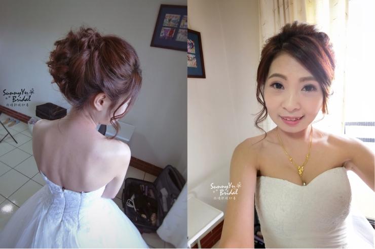 結婚新娘造型|嘉義新秘推薦|新娘秘書|新娘秘書推薦|雨晴新娘秘書|新娘髮型|迎娶造型|白紗髮型|高盤髮造型
