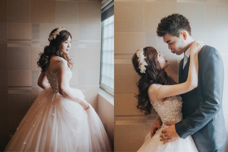文定|嘉義婚攝推薦|婚禮紀錄|MR2|嘉義新秘推薦|新娘秘書|新娘秘書推薦|雨晴新娘秘書|送客造型|公主頭編髮|粉色禮服|甜美造型|新娘髮型