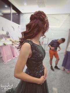 新娘整體造型|新娘髮型|嘉義新秘推薦雨晴|