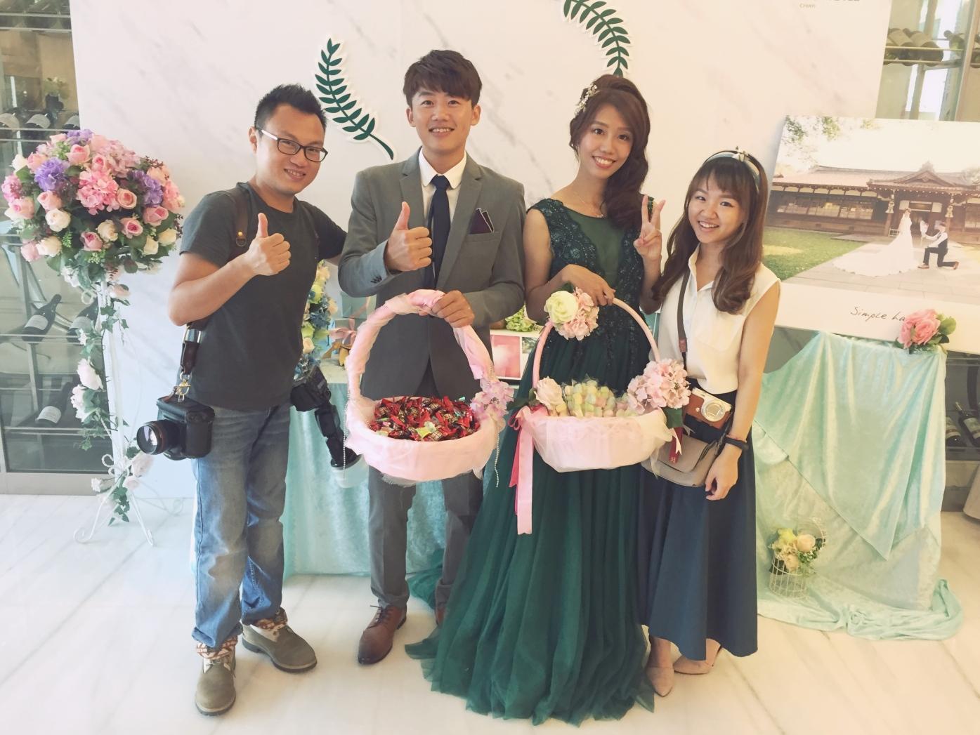 嘉義新秘推薦|新娘秘書雨晴SunnyYu|愛依賴婚禮攝影|鈺通飯店|