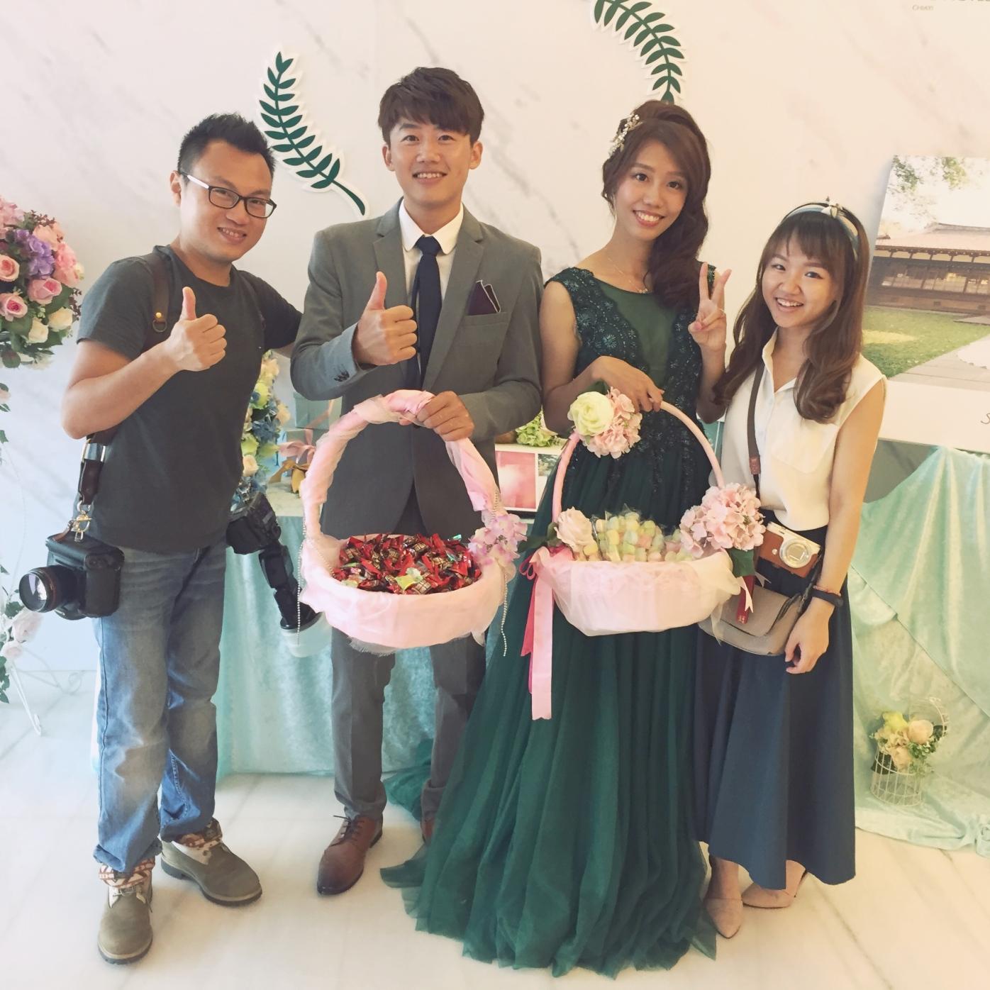嘉義新秘推薦 新娘秘書雨晴SunnyYu 愛依賴婚禮攝影 鈺通飯店 