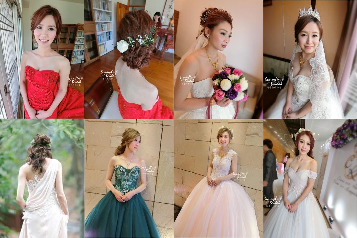 新娘妝髮造型-精選50位新娘的造型懶人包[台北新秘雨晴SunnyYu]