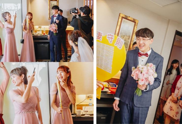 台北新秘推薦|新娘秘書雨晴|婚禮攝影平面紀錄|七囍|GTpeng|迎娶闖關|時間安排|結婚流程|伴娘伴郎注意事項