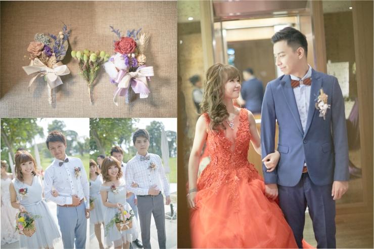 乾燥花胸花|胸花訂購訂製|伴娘伴郎胸花|新郎胸花|嘉義婚禮佈置推薦|憶起幸福