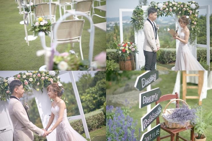 嘉義婚禮佈置推薦|憶起幸福|嘉義戶外證婚評價|幸福山丘