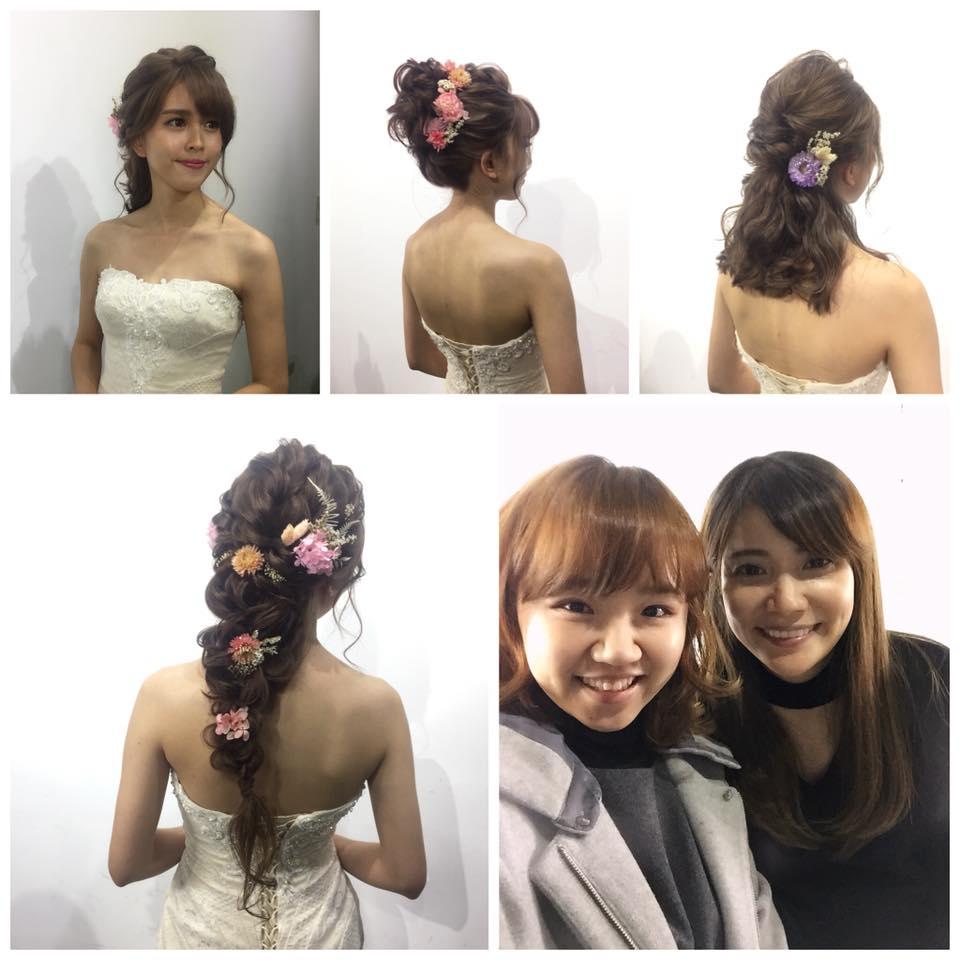 新秘進修|YUKI老師|新娘髮型