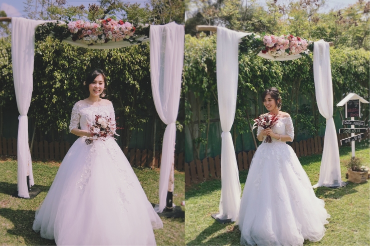 乾燥捧花|新娘捧花|台北新娘秘書|紅色捧花|紅白色乾燥捧花|求婚捧花|客製捧花|秘密求婚