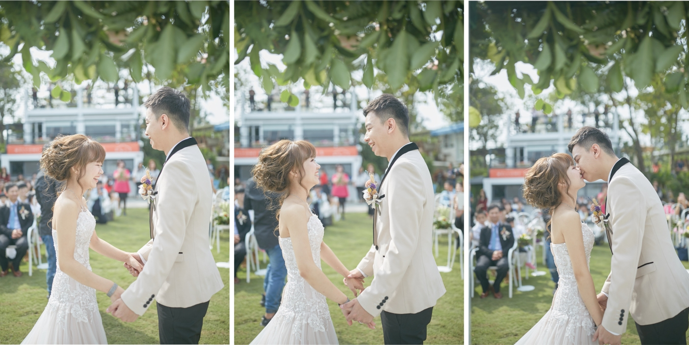 西式證婚流程|戶外證婚流程|婚禮流程|婚禮流程表|西式草坪婚禮|戶外證婚時間|嘉義戶外證婚|嘉義婚佈推薦|憶起幸福|幸福山丘|新人交換誓詞|親吻