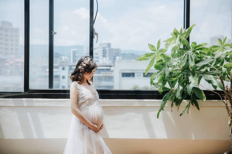 台北孕婦寫真|台北內湖南港孕媽咪拍攝|孕婦拍攝|台北新秘推薦雨晴|攝影師Luna|LunaPhotography|自然生活風孕婦|唯美性感孕媽咪
