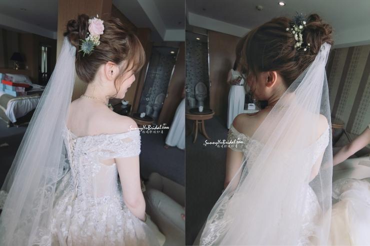 結婚髮型4