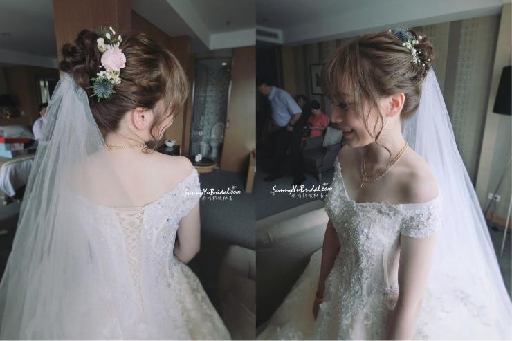 結婚髮型5