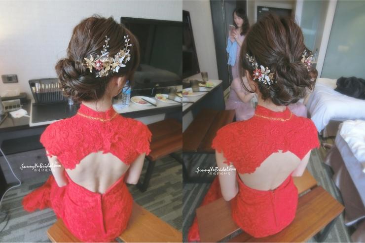 文定新娘髮型3