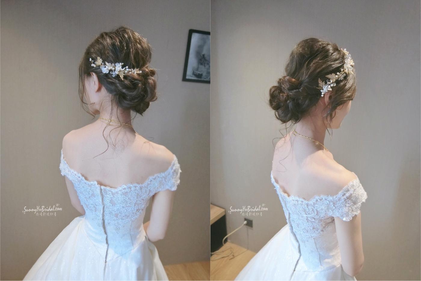 新娘結婚髮
