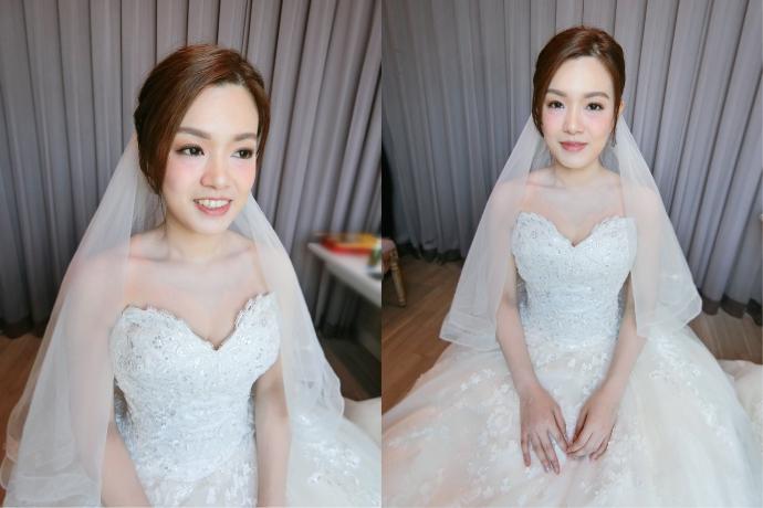 台北新娘秘書|白紗妝感|氣質名媛風格|貴氣風格|新娘秘書推薦|台北新秘雨晴|新娘妝髮|新娘白紗髮型|頭紗造型|新娘乾淨俐落造型|透亮妝感|光澤肌