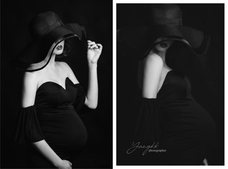 孕婦寫真|妊辰紀錄|台北孕媽咪寫真|貳月婚紗|台北新秘推薦|孕婦創作照片|台北新娘秘書雨晴|YangKK婚禮人像攝影|黑白藝術|歐美妝感|厭世紅唇|
