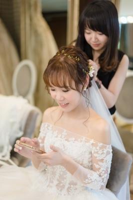 台北新秘|新娘髮型|台北新娘秘書推薦雨晴