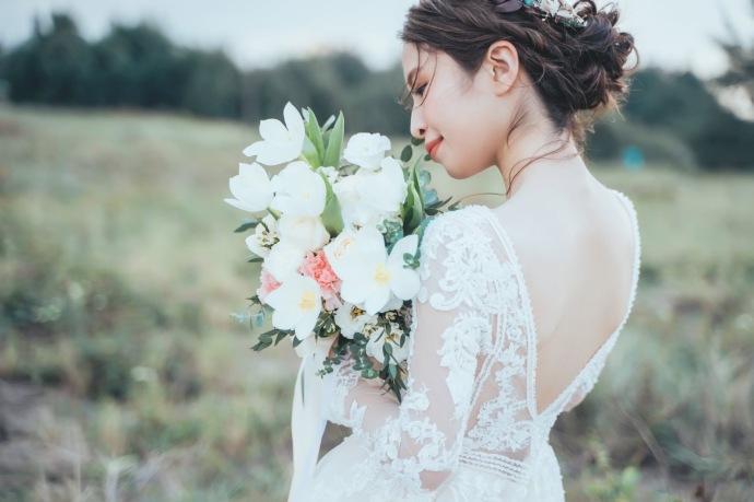 婚紗|台北新娘秘書雨晴|貳月婚紗|新秘推薦雨晴|唯美仙氣妝感新秘|K K YANG 婚禮婚紗/人像攝影